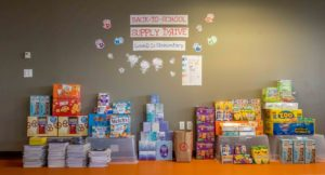 lowell school back to school supply drive